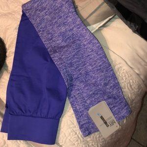 NWT Gymshark Indigo two-tone legging